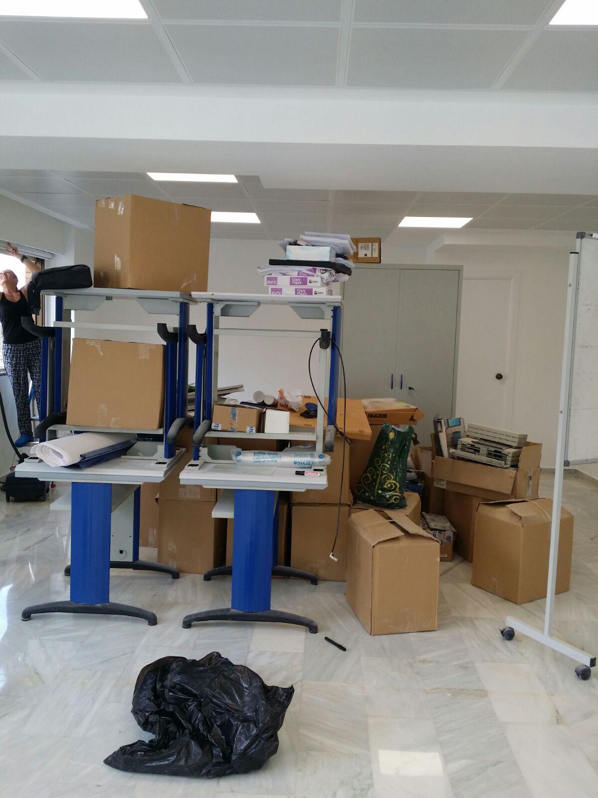 Limpieza y desinfeccion de oficinas en Murcia